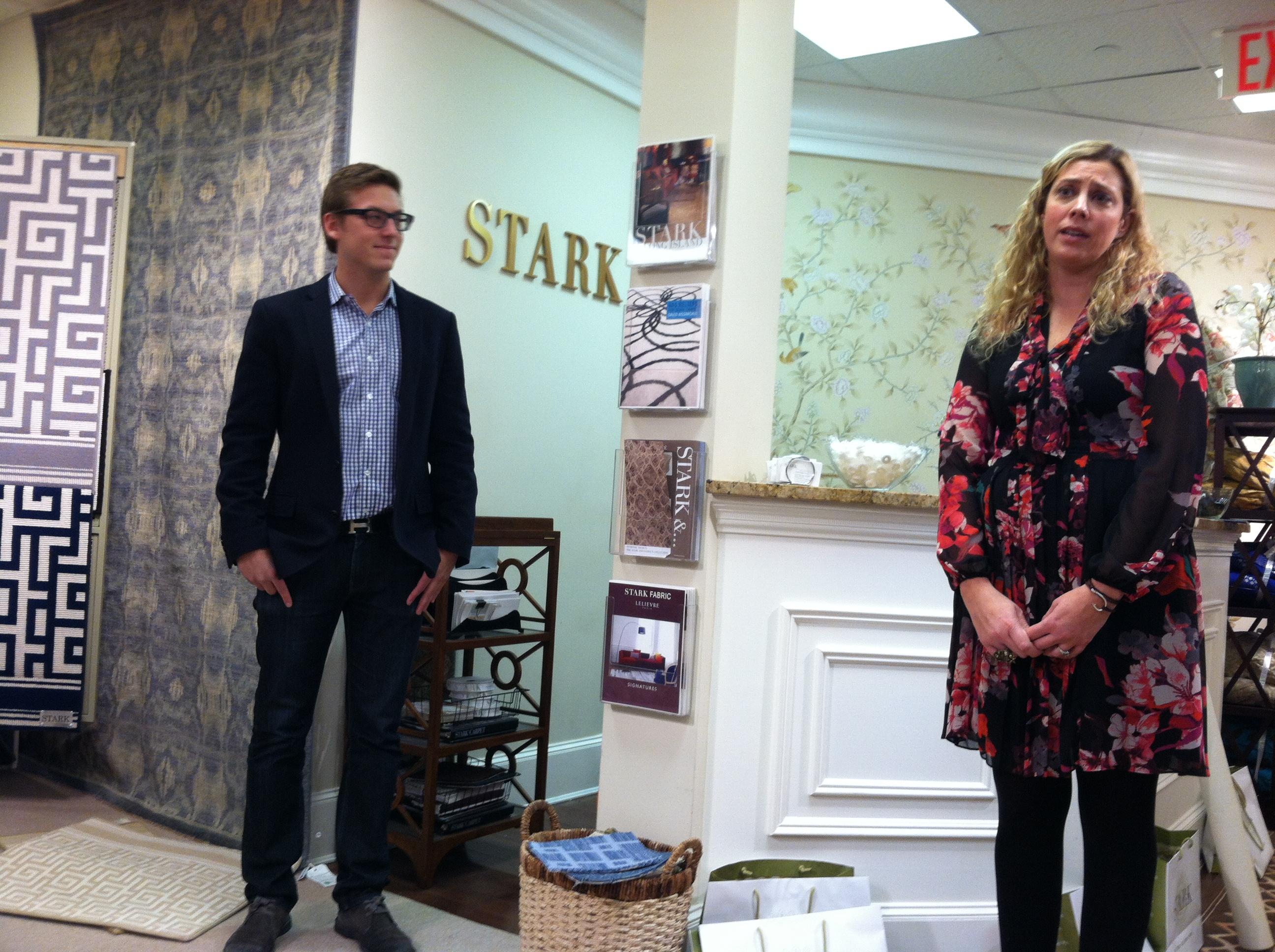 Fabric showroom chad stark designer appreciation week in syosset baanklon Image collections