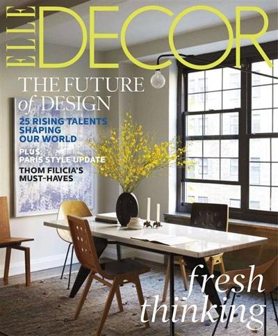 Elle Decor March 2013 Cover