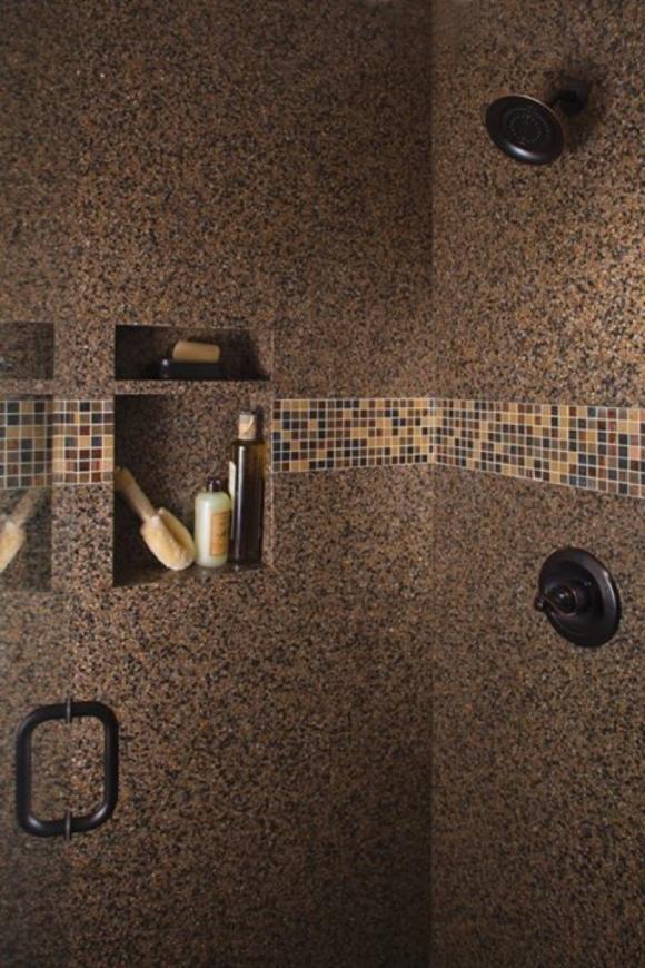 Built-In Shower Shelf