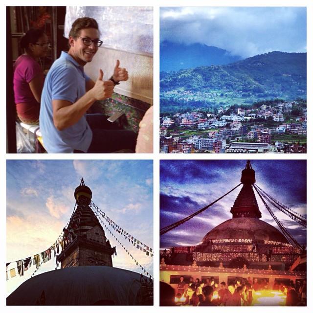 Wearing in Kathmandu