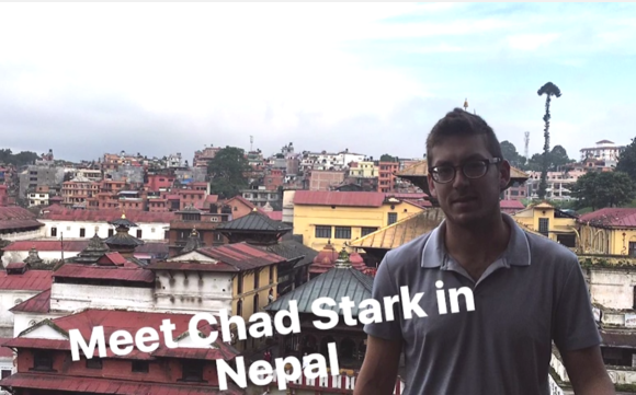 Chad in Nepal